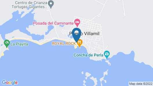 Isabela Paradise Map