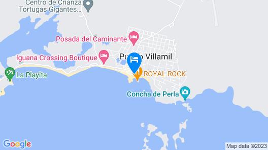 Hotel Albemarle Map