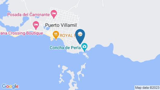 Chez Manany Galapagos Eco lodge Map