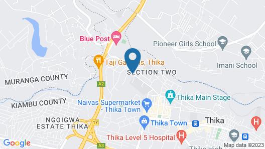 Paleo Hotel & Spa Map
