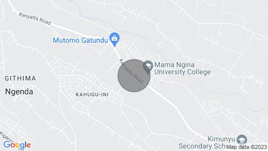 Along thika road Map