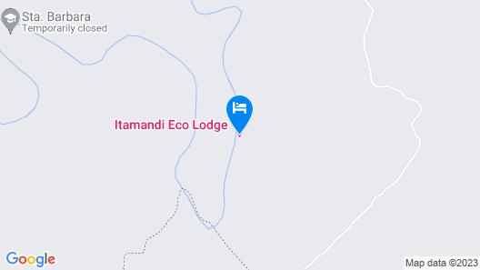 Itamandi EcoLodge Map