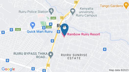 Rainbow Ruiru Resort Map