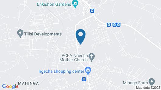 Three Rey Hostels - Hostel Map