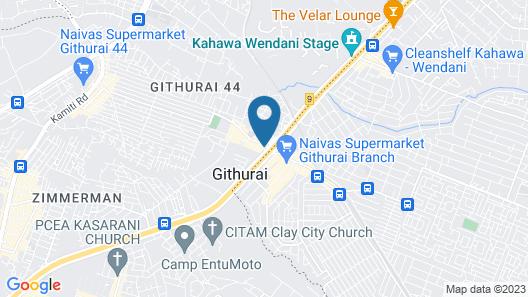 Kiuu Guest House Map
