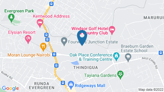 Fourways Junction VIP Suite Map