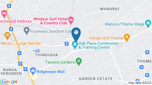Wysline Guest House Map