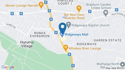 Kigwa Guest Homes Map