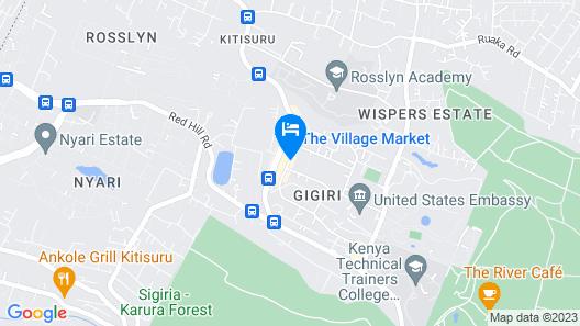 Village Villa Map