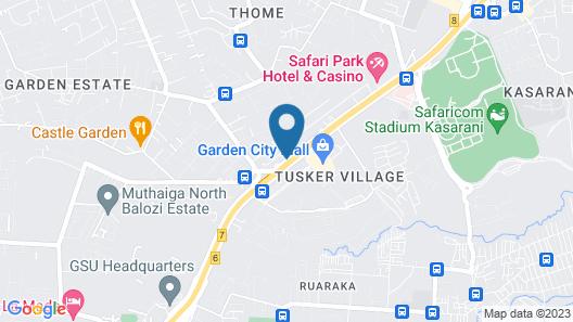 Sagas Hotel Ltd Map
