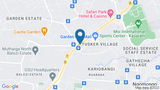 Nice Digital Hotel Mwea Map