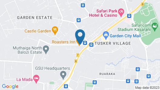 The Luke Hotel Map