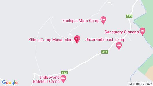Kilima Camp Map