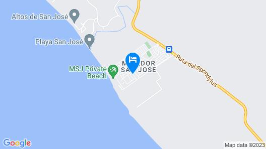 Casa Lila Map