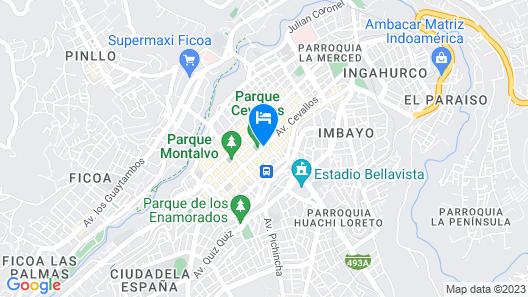 Hotel Emperador Map