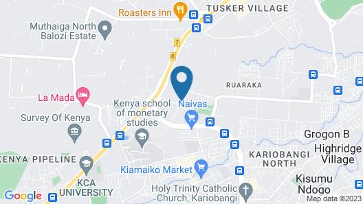 Ramata Greens Apartment Map