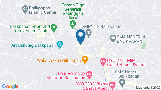 OYO 1034 Pondok Mulia Guest House Map