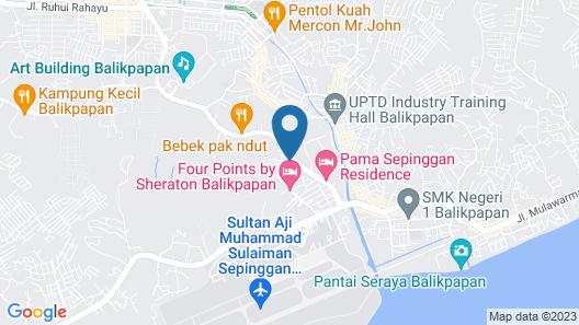 Royal Suite Balikpapan Map