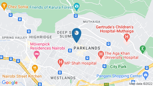 Sky Hotel Nairobi Map
