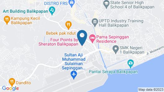 Four Points by Sheraton Balikpapan Map