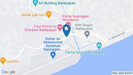 Sepinggan Hotel Map