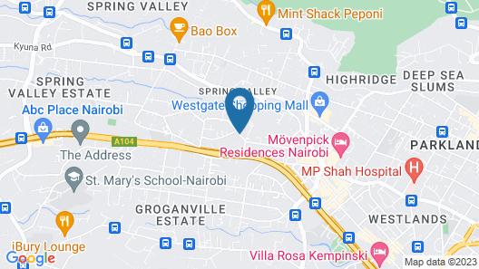 Sherry Homes Raha Westlands Map