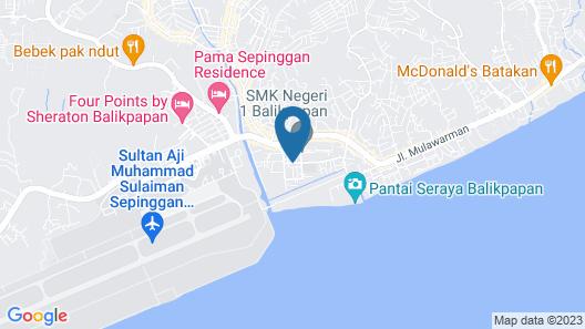 SPOT ON 1854 Sepinggan Asri Syariah Map