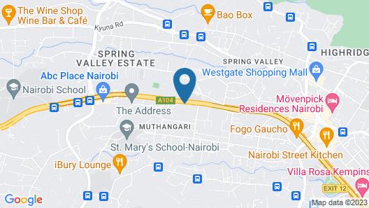 Desmond Tutu Conference Centre Map