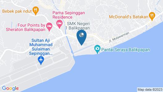 RedDoorz near Sepinggan Airport Balikpapan 2 Map