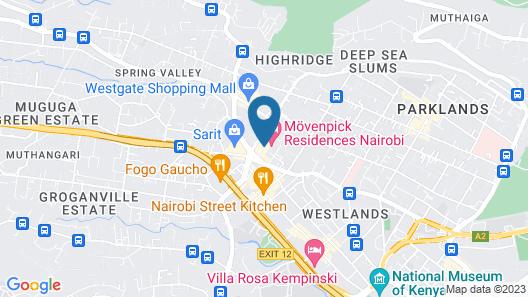 Mövenpick Hotel & Residences Nairobi Map