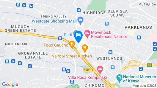 Sankara Nairobi, Autograph Collection Map