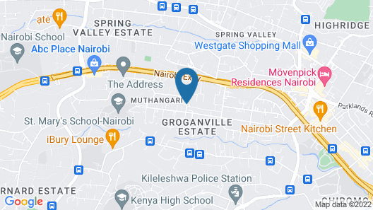 Prime Living Luxury Apartments Map