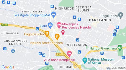 Southern Sun Mayfair Map