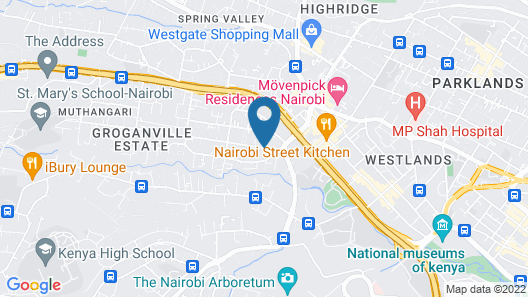 ibis Styles Nairobi Westlands Map