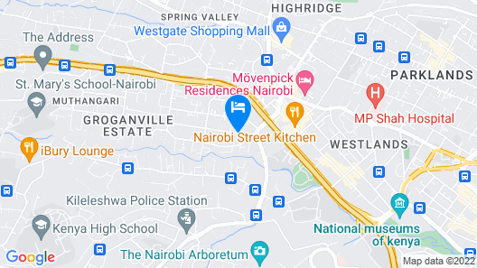 ibis Styles Nairobi Westlands Map