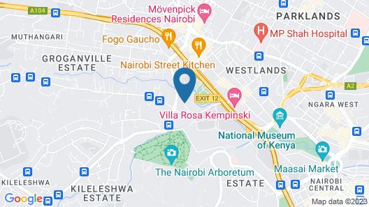 Dusit D2 Nairobi Map