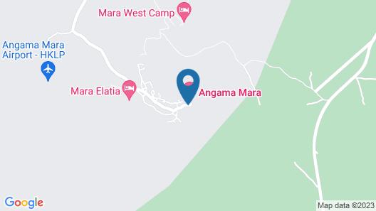 Angama Mara Map