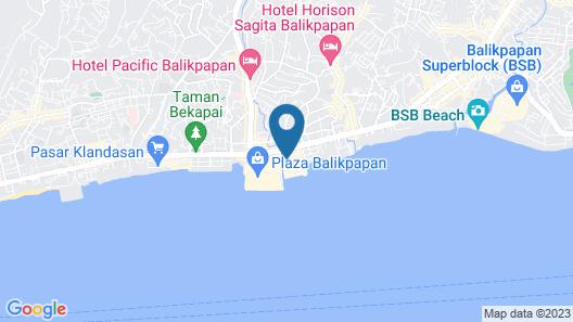 Swiss-Belhotel Balikpapan Map
