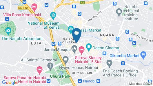 Best Western Plus Meridian Hotel Map