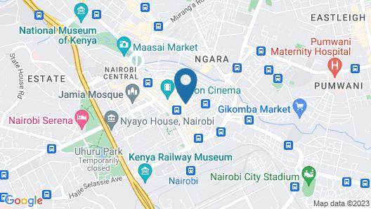 Comfort 5 Hotel Map