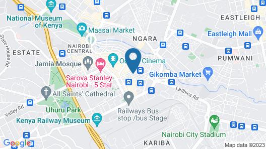 Beams Hotel Map
