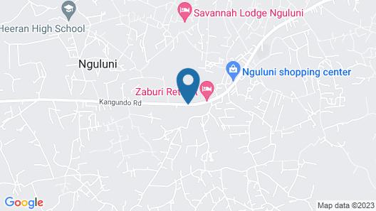 Savannah Lodge Nguluni Map