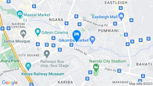 Starehe link hotel Map