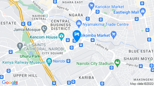 New Rwathia Guest House Map