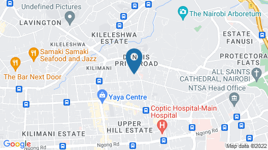 Woodmere Serviced Apartments Map