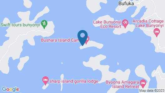 Bushara Island Camp Map