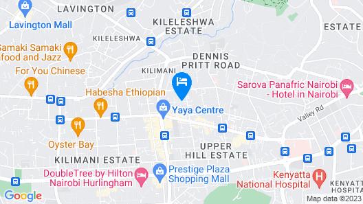 Royal Tulip Canaan Nairobi Map