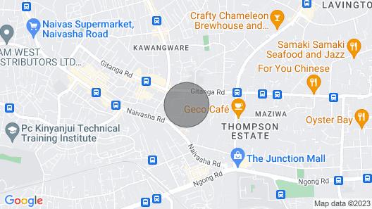 LAVINGTON CASBAH DELIGHT APARTMENT. Map