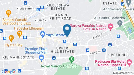Mpunga Gardens Map