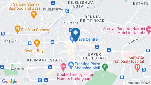 Yaya Hotel and Apartments Map